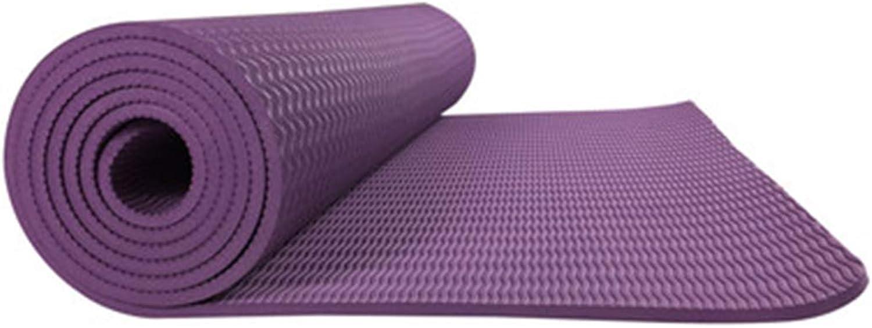 Shiduoli Yogamatte Tpe6mm umweltfreundliche kstliche Fitnessmatte Yogamatten-Turnhallenfamilie. (Farbe   A010)