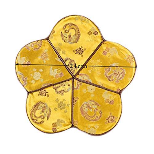 Goddness Bar Tapis de Plateau de thé en Tissu décoratif Coaster Retro Pad Tapis (Style 14)