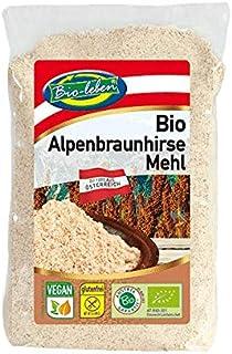 Harina de Mijo marrón ecológica austríaca, sin gluten 400g Bio biológica, sin OMG, de mijo marrón de grano entero de Austr...