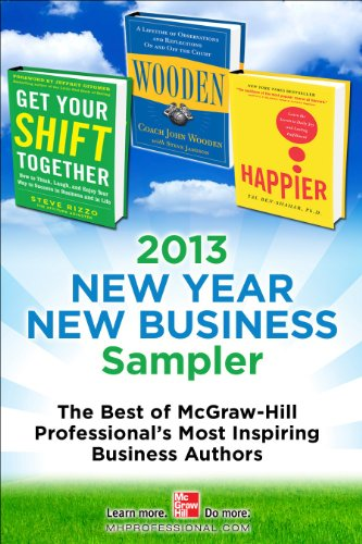 2013 New Year New Business Sampler Amazon Edition (English Edition)