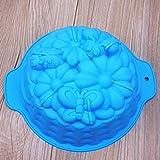 Fewear Molde de silicona para galletas y galletas, diseño de insectos