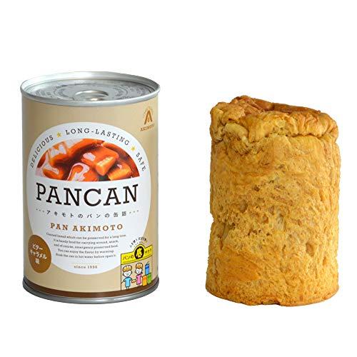 パン・アキモト パンの缶詰ビターキャラメル味 100g×6個