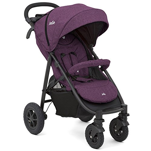 Joie Buggy Litetrax 4 Air inkl. Regenverdeck 2018, Farbe:Lilac