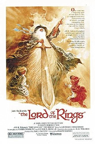 Close Up Póster The Lord of The Rings - 1978 Animation Movie (68,5cm x 101,5cm) + 1 póster Sorpresa de Regalo