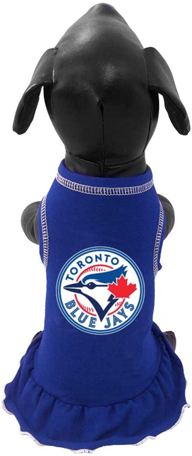 All Star Dogs Official Tgoldnto bluee Jays Dress, XLarge