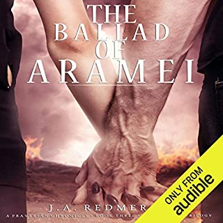 The Ballad of Aramei     The Darkwoods Trilogy, Book 3               By:                                                                                                                                 J. A. Redmerski                               Narrated by:                                                                                                                                 David Atlas,                                                                                        Andrew Eiden,                                                                                        Adam Connor,                   and others                 Length: 13 hrs and 5 mins     4 ratings     Overall 3.5