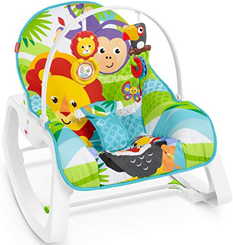 Fisher-Price Infant to Toddler Bunny Rocker (Multicolour)