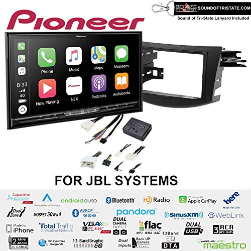 Best Price Pioneer AVIC-W8500NEX 6.94 DVD Navigation Receiver with Wireless Apple CarPlay and Andro...