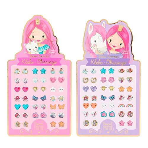 Depesche Princess Mimi - Orecchini adesivi per bambina