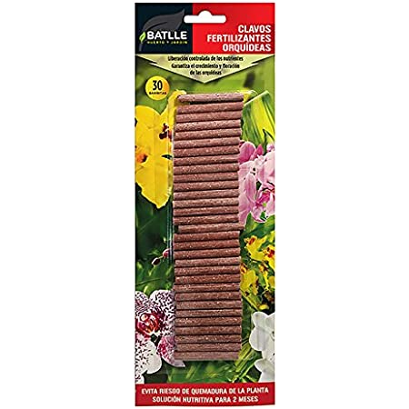 Abonos - Clavos Fertilizantes Orquídeas - Batlle