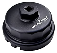 Perfect Fit - This 64mm 14 flute oil filter wrench fits all Toyota, Lexus, and Scion vehicles equipped with 2.5L to 5.7L engines that use Toyota's cartridge style oil filter system. This wrench does not work on vehicles with traditional canister filt...
