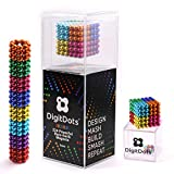 Multi Colored DigitDots 224 Pieces 5 Millimeter Magnetic Balls The Original Updated