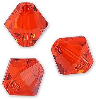 5328  3mm Crystal Bicone Beads 100 PCS GENUINE SWAROVSKI®  5301 SIAM