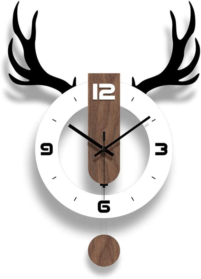 SHISEDECO Acrylic Pendulum Clock Now on sale sold out in White Mo Decorative Black