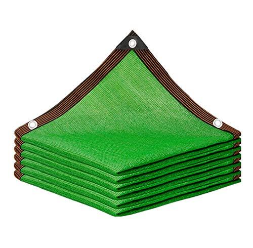 QYHSS Privacy Net Sun Shade, 85% Shade Protection Shade Cloth, Cubierta de Planta Neta Resistente a los Rayos UV, para Villa, Balcón, Pabellón de Piscina, 16 Tamaños (Tamaño: 6 × 7M)