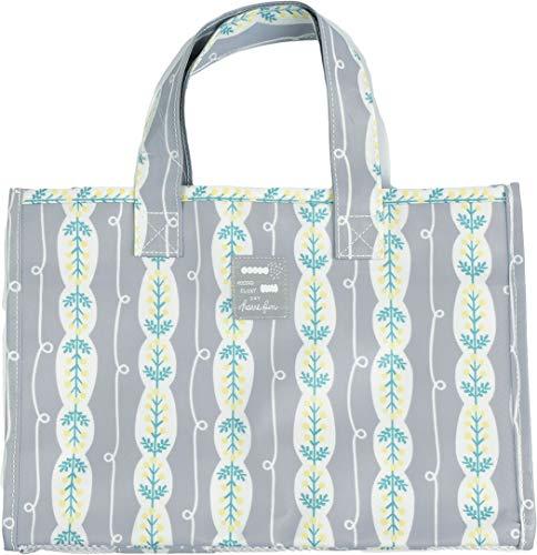 ラミネート加工 スパバッグ Lサイズ レディース バッグ 11-1135 防水 かわいい トラベル スパバッグ