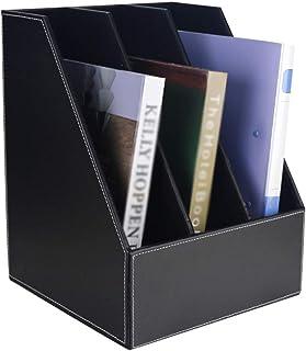 Nai-storage Multi-Capa de Rack de Almacenamiento LP, Bar del Hotel Club CD Soporte de exhibición - Oficina de la Casa del Libro Archivo de Escritorio Shelf (Color : A, Size : 27 * 27.5 * 34cm)