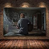 haoziggdeshoop The Last of Us Game Poster Print Zombie Survival Horror Action HD Poster Canvas Painting Modern Home Decor for Wall Art 40x60cm (canvas-3003)