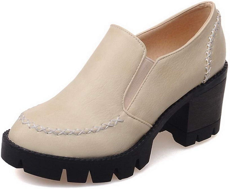 BalaMasa Womens Ruffles PunctureResistant Travel Urethane Walking shoes APL10474