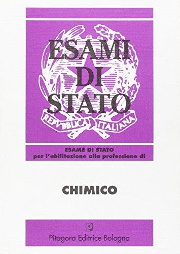 Esame di Stato per l'abilitazione alla professione di chimico (1986-1996)