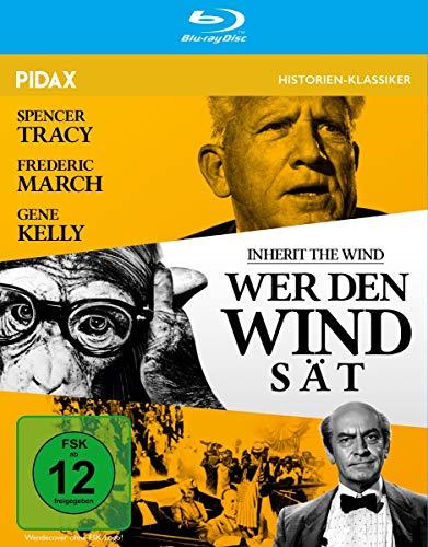 Wer den Wind sät (Inherit the Wind) / Historisches Meisterwerk in brillanter HD-Qualität (Pidax Film-Klassiker) [Blu-ray]