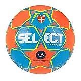 SELECT Combo Lot de 10 Ballons de Handball Bleu Orange Jaune 3 Bleu/Orange/Jaune.