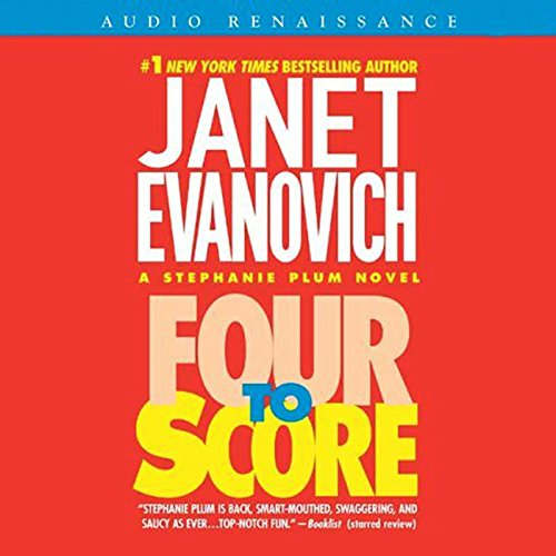 Four to Score                   By:                                                                                                                                 Janet Evanovich                               Narrated by:                                                                                                                                 C. J. Critt                      Length: 9 hrs and 35 mins     2,566 ratings     Overall 4.5