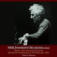 N響85周年記念シリーズ:モーツァルト:ピアノ協奏曲第21番、22番、ショスタコーヴィチ:交響曲第5番 他/ウラディーミル・アシュケナージ (NHK Symphony Orchestra, Tokyo) [2CD]