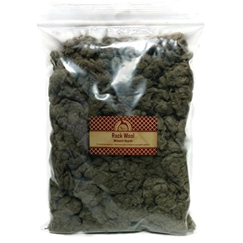 Midwest Hearth Rock Wool for Gas Log - 6 oz. Bag