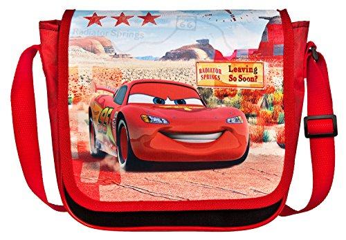 Undercover Sac pour Enfant, Disney Pixar Cars, Enfant Sac de Sport Env. 21 x 22 x 8 cm, 22 cm, Rouge