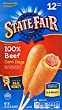 State Fair 100% Beef Corn Dogs, 12 Count (Frozen)