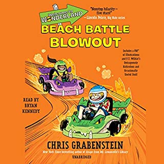 Beach Battle Blowout     Welcome to Wonderland, Book 4              By:                                                                                                                                 Chris Grabenstein                               Narrated by:                                                                                                                                 Bryan Kennedy                      Length: 4 hrs and 34 mins     1 rating     Overall 5.0