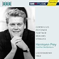 Hermann Prey - Liederbend 1963 by Pray/Weissenborn (2011-05-31)