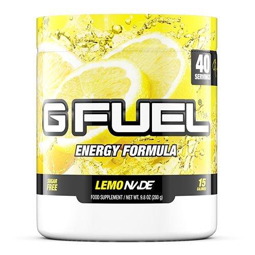 G Fuel Lemonade Tub (40 Servings) Elite Energy and Endurance Formula