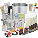 Candle Making Kit - Candle Kit For Making Candles - Candle Kit For Soy Candle Kit To Make Your Own Candles Set - Scented Candles Kit DIY Candle Making Kit - Making Candles Supplies by StorageMaid