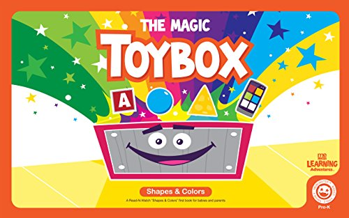 The Magic Toy Box - Shapes & Colors.: Learn your shapes and colors with the MeMonsters. (The MeMonster Learning Adventures) (English Edition)