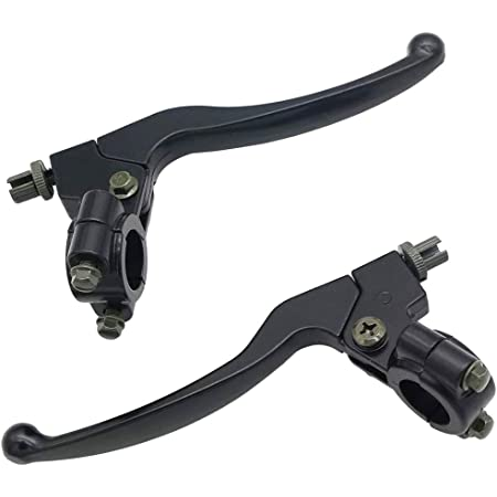 Black Fly Racing OEM Off-Road Motorcycle Brake Lever Compatible for Honda CR80R 1985-1997