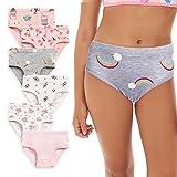 Arshiner Little Girls Underwear Toddler Panties Soft 100% Cotton(6 Pack)3-4T
