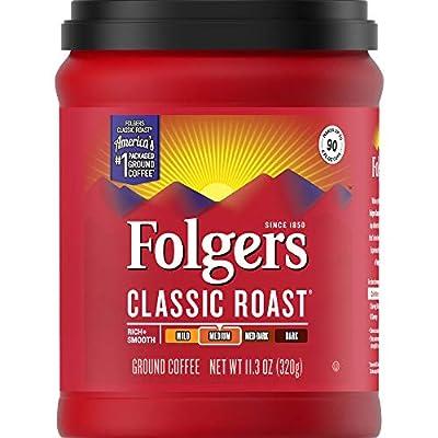 Folgers Classic Roast - Canisters and Bricks Caffeinated