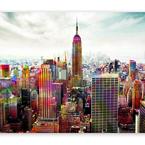 murando Papier peint intissé 350x256 cm Décoration Murale XXL Poster Tableaux Muraux Tapisserie Photo Trompe l'oeil Ville New York 10110904-45