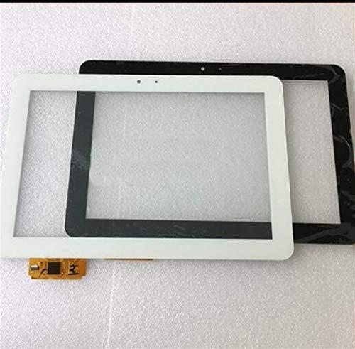 Pantalla 10.1 '' de la Pantalla táctil del Panel de la Tableta en Forma for el BQ Edison 3 Quad Core digitalizador táctil (Color : White)