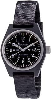 Marathon Watch WW194003 General Purpose Mechanical (GPM) Military Field Watch with Tritium and Sapphire Glass (34mm)