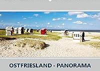 Ostfriesland Panorama (Wandkalender 2022 DIN A2 quer): Berauschende Augenblicke an der Kueste (Monatskalender, 14 Seiten )