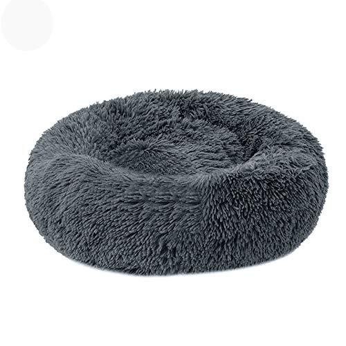 HIUHIU Cama de Gato Casa de Felpa Casa de Gato Casa Matera de Gato Invierno Cálido Sueño Cat Nest Nest Soft Dog Basket Cojín de Mascotas Suministros portátiles, 24 Pulgadas