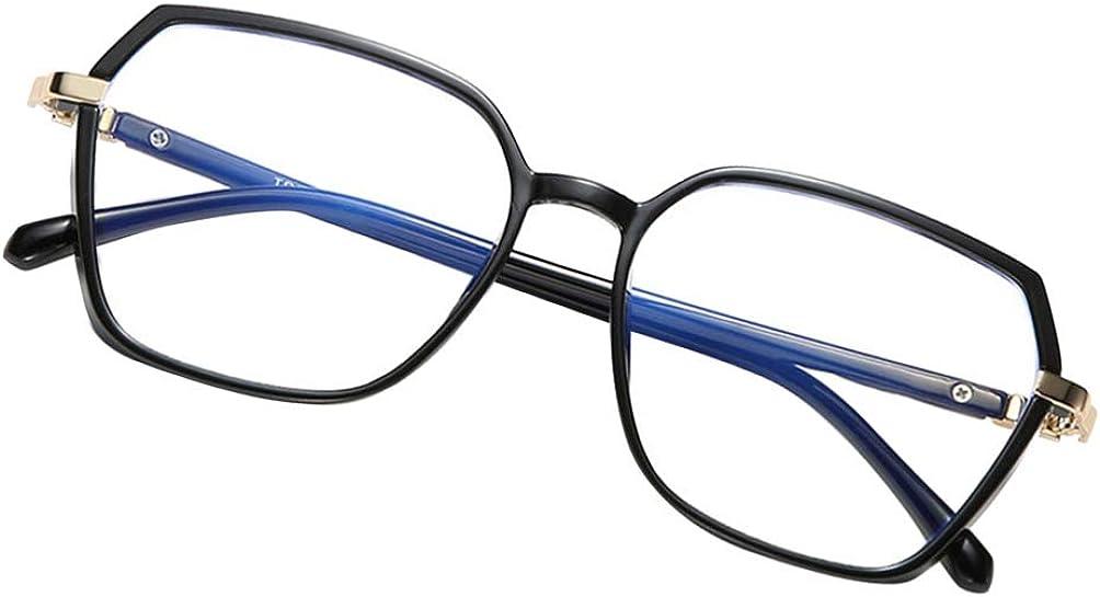 PRETYZOOM Gafas de Bloqueo de Luz Azul Anteojos Anti Luz Azul Protección Contra La Luz Azul Lectura de Juegos Gafas de Computadora Anti Uv Fatiga Visual para Mujeres Hombres Negro