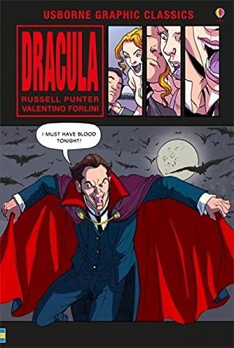 Dracula (Usborne Graphic Classics) 1474925014 Book Cover