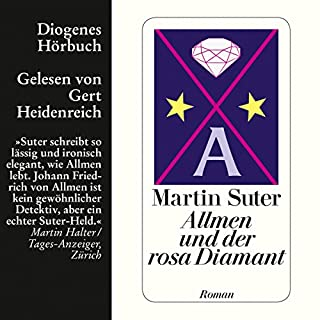 Allmen und der rosa Diamant audiobook cover art