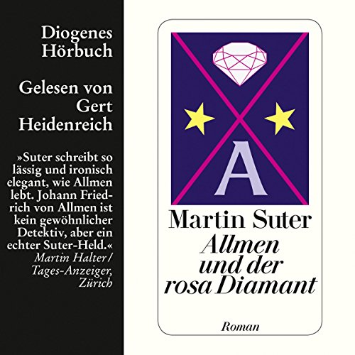 Allmen und der rosa Diamant audiobook cover art