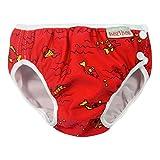ImseVimse - Pannolini da nuoto per ragazzi, taglia 50/56, colore: Rosso