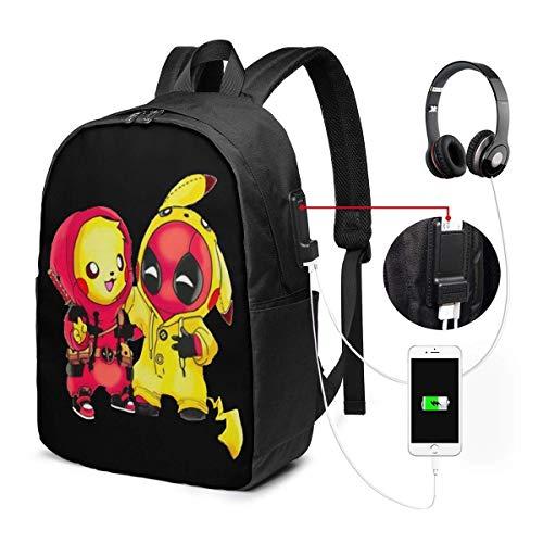 par Fun USB Backpack 17 et Laptop Backpack